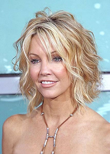 Wavy Hair, Short Hair Over Women