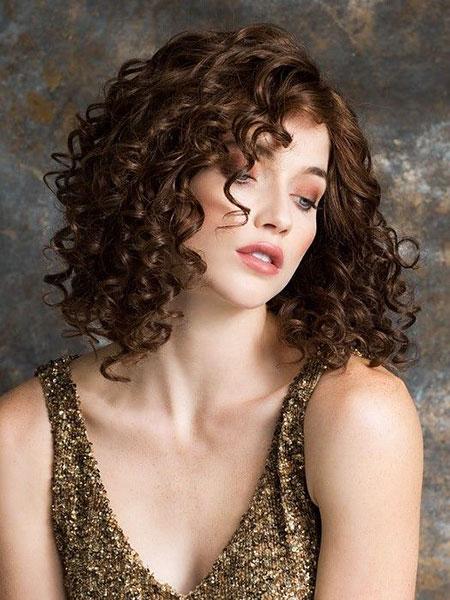 Curly Hair, Curly Front Hairtyles Hair