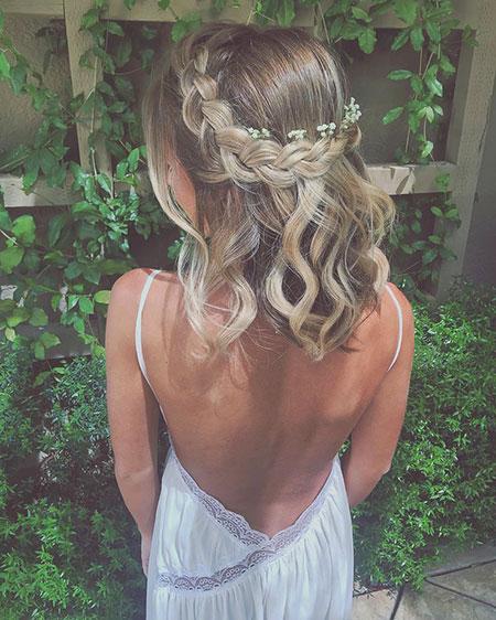 Cute Hair, Hair Wedding Braided Prom