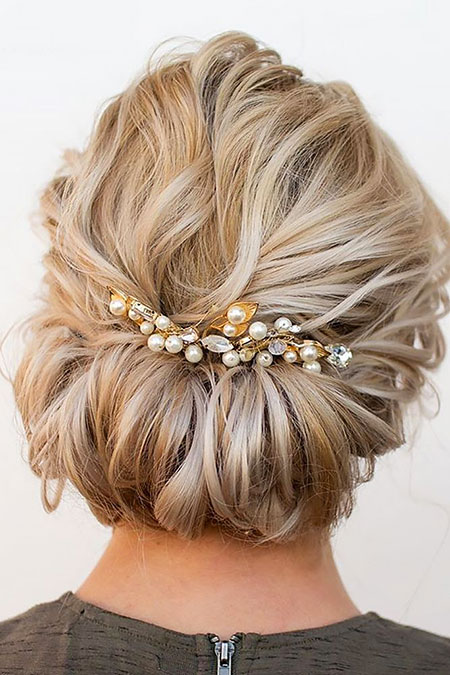 Updos for Short Hair, Wedding Hair Hairtyles Short