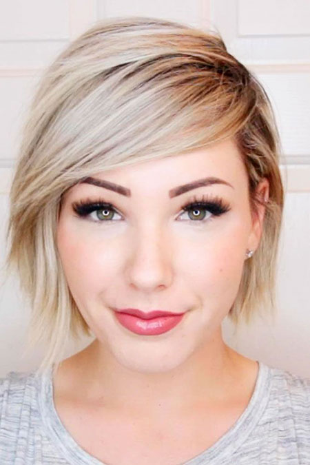18 Short Cuts For Round Faces Short Hairstyles