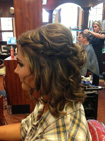 Cute Prom Hair, Hair Prom Short Homecoming