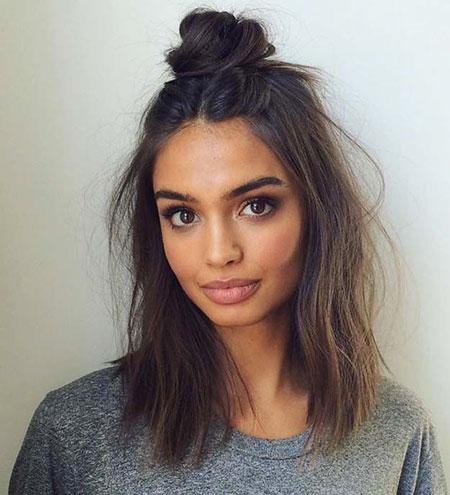 Messy Hair, Hair Length White Messy