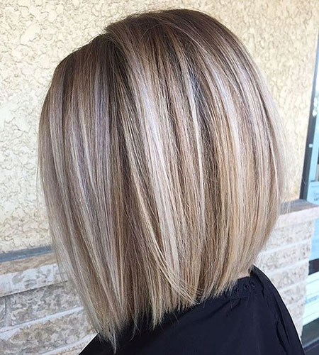 Casual Hair, Bob Blonde Balayage 50