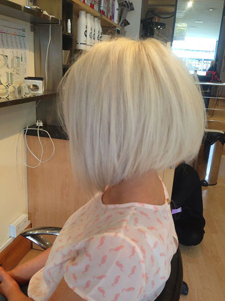 Blonde Bob Hair Gray