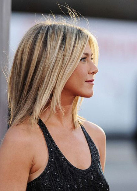 Aniston Jennifer Short Hair