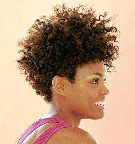 Curly Natural Hair Afro
