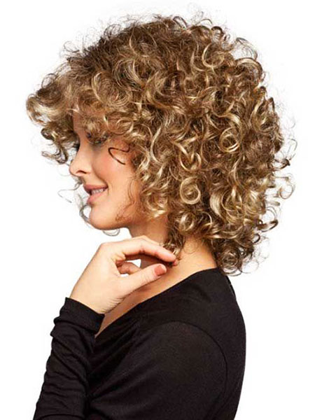 Curly Short Naturally Hairtyles