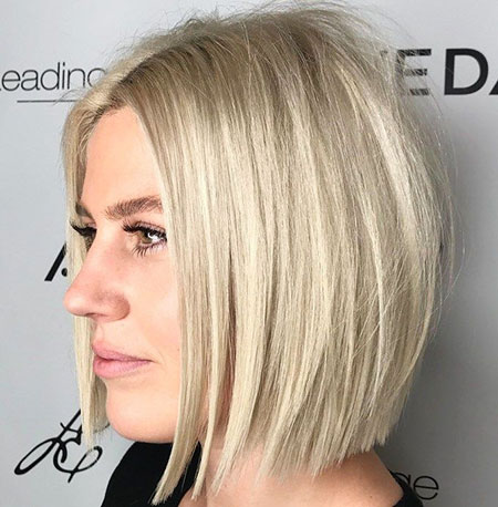Blonde Bob Hair Lob