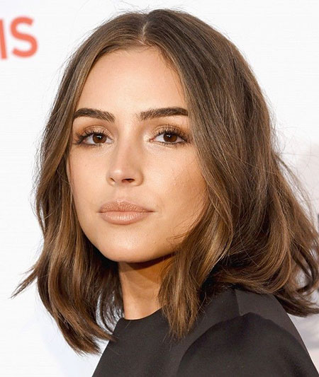 Brown Hair Delevingne Cara