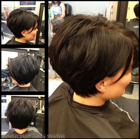 Short Balayage Thick Bob