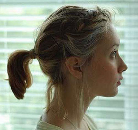 Cute Ponytail Ideas For Short Hair Short Hairstyles Haircuts 2019 2020
