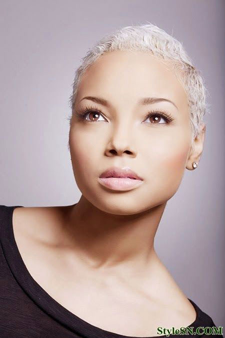 Cute Short Hairtyle for Black Women, Makeup Black Short 2013