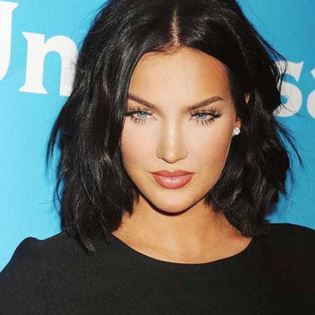 Short Dark Hairtyle, Short Hair Jenner Girls