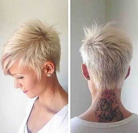 Cute Short Haircut for Girls, Short Pixie Hair 30