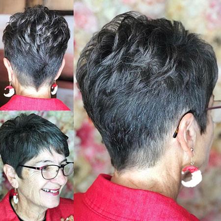 Very Short Hairtyle, Pixie Short Hair Cut