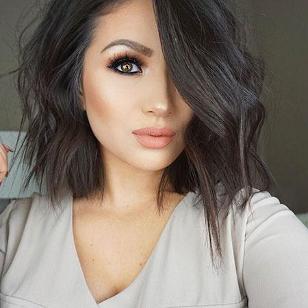 Hair Dark Brown Makeup