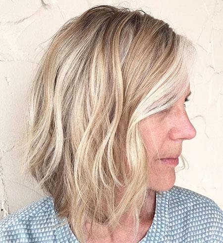 Blonde Hair 40 Bob