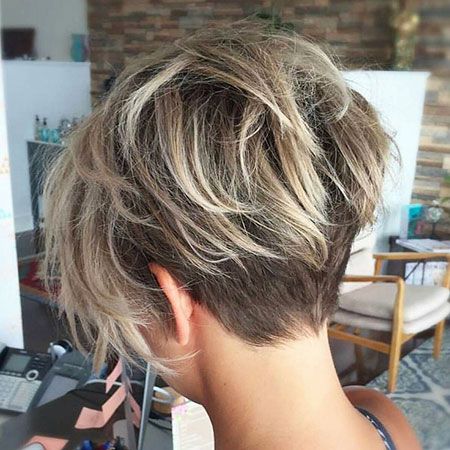Short Pixie Layered Haircut