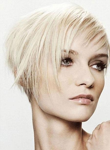 Short Hair Trendy Layered