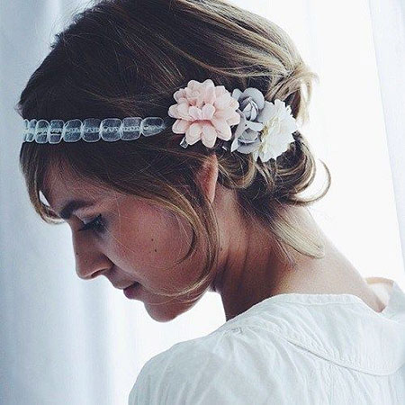 Hair Updo Wedding Bridal
