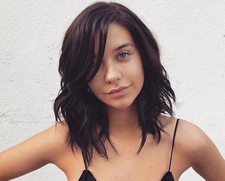 Short Medium Hair Dark