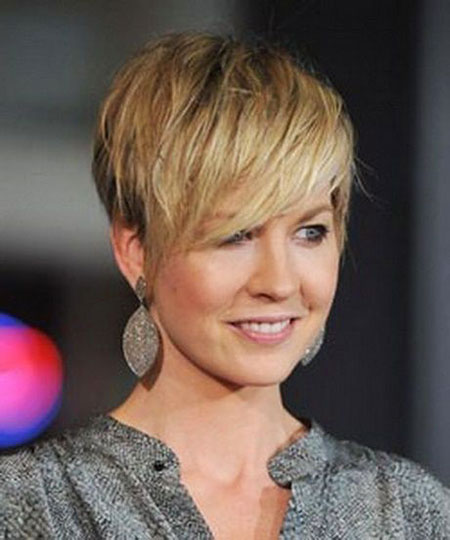 Short Pixie Hair Bronde
