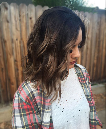 Brown Balayage Dark Caramel