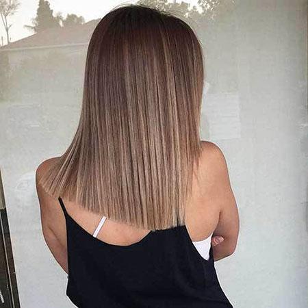 Hair Balayage Blonde Bob