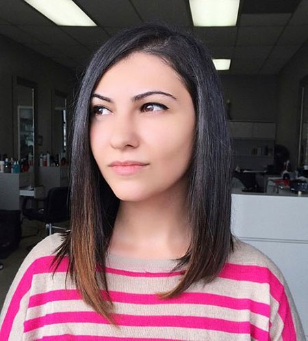 Bob Hair Long Asymmetrical