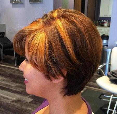 Brown Bob Short Caramel