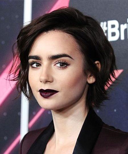Dark Hair Short Lily