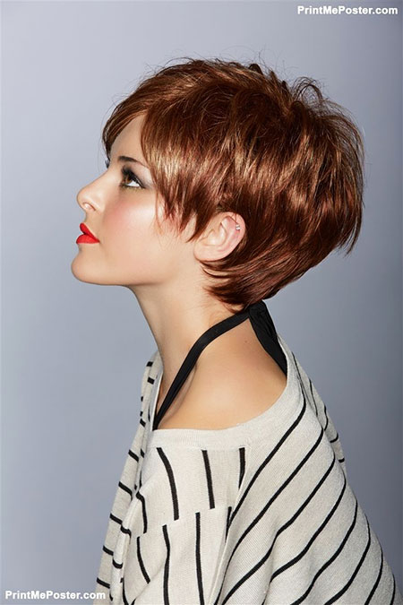 Short Hair Cuts Red