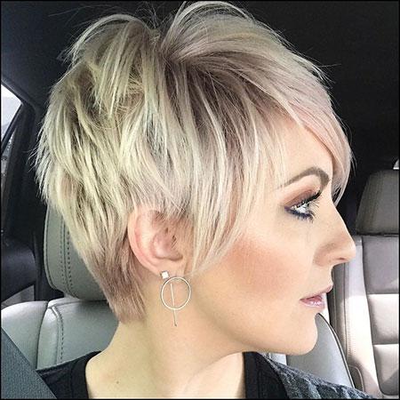 Pixie Hair Cut Messy
