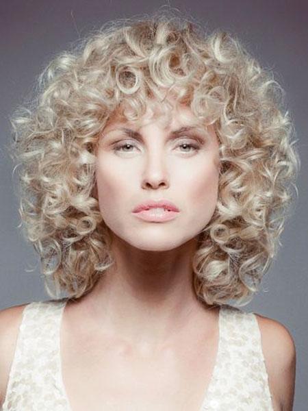Curly Hair Styles Short