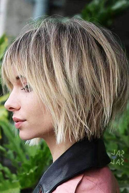 Blonde Hair Platinum Bob