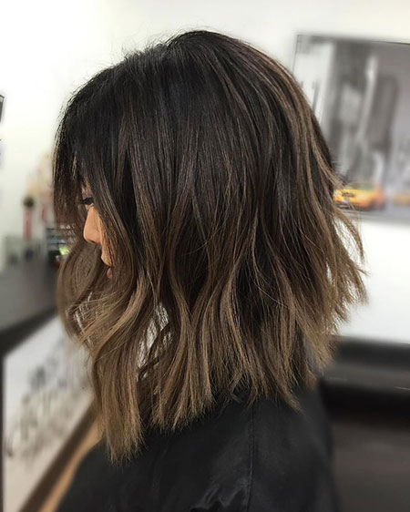 Brown Balayage Ash Dark