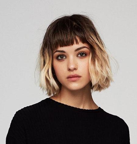Short Hair Bangs Hairtyles
