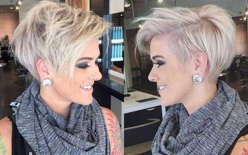 Cute Short Hair Cuts-17