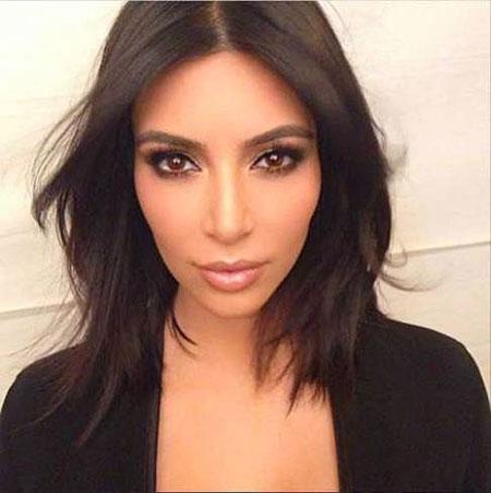 Hair Kardashian Kim Short
