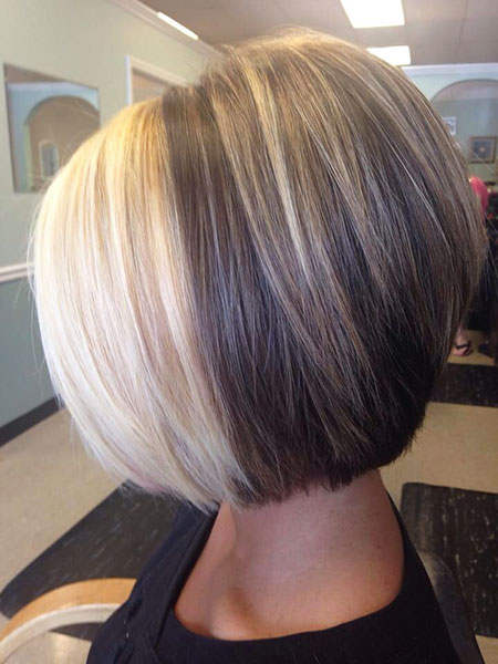 Blonde Front Hair, Bob Blonde Brown Highlights
