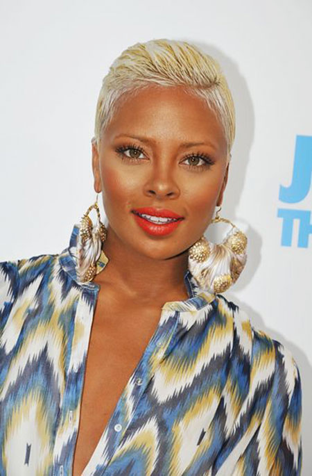 Blonde Pixie for Black Women, Black Women Short Hair