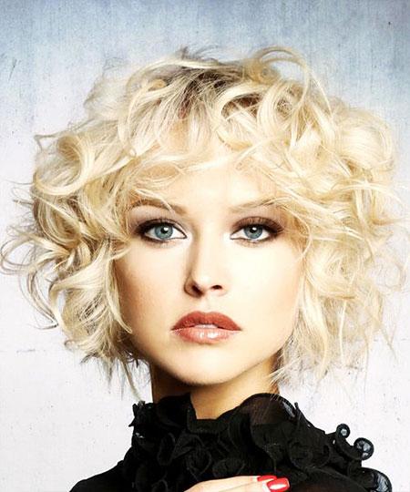 Short Curly Shag Hair, Short Shag Curly Hairtyles