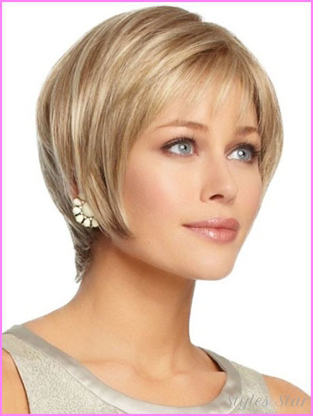 Short Hair Oval Haircuts