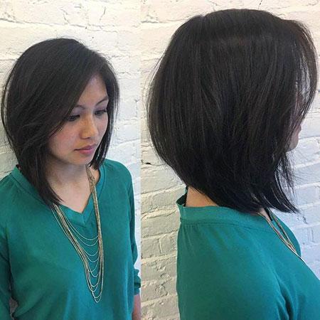 Bob Long Hair Asymmetrical