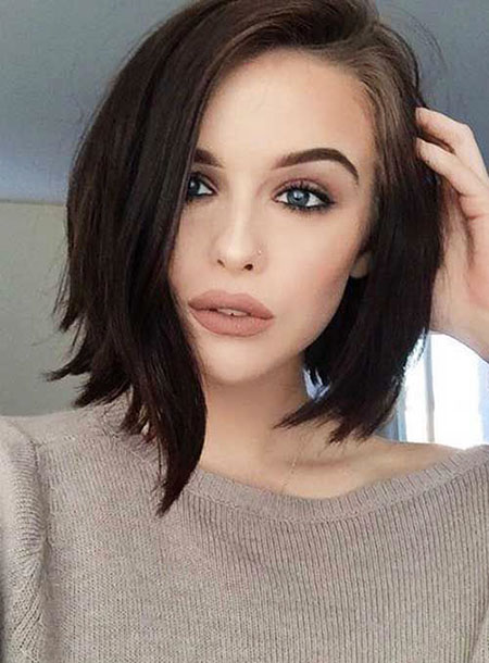 Hair Short Bob Long