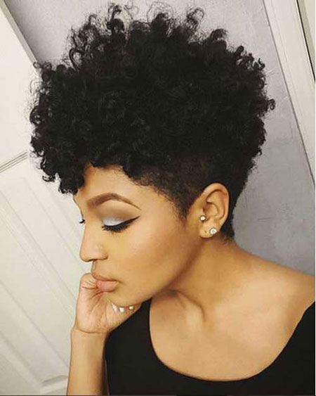 Hair Natural Tapered Styles