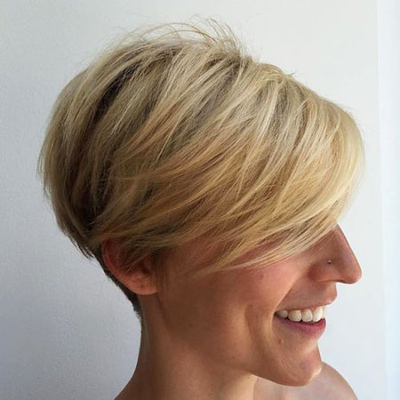 Pixie Short Fine Blonde