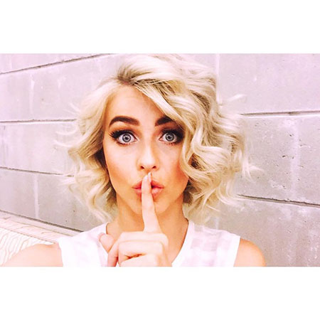 Julianne Hough, Hair All Over Celebrity