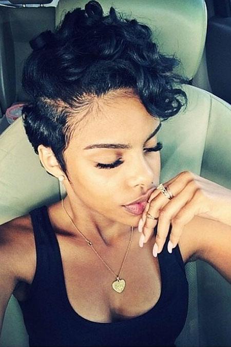 Afro Pixie, Hair Short Pixie Women